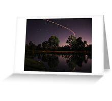 Murray River at Night Greeting Card
