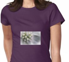 Sea Holly Close Up Womens Fitted T-Shirt