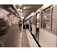 The Paris Metro Photographic Print
