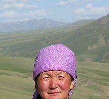 Proud Kyrgyz Woman by snefne