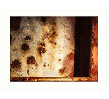 iron abstract Art Print