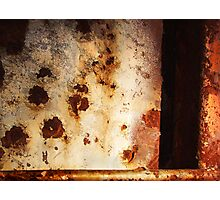 iron abstract Photographic Print