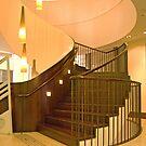 Staircase, Customs House, Sydney, NSW, Australia by Adrian Paul