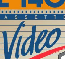VHS Classica 013 Sticker