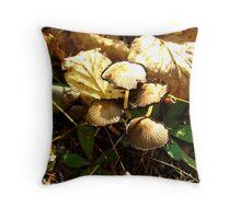 Fungi Function Throw Pillow