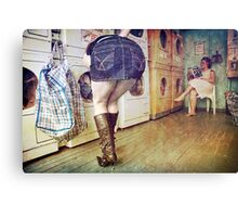The Laundromat Canvas Print