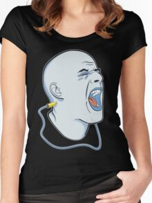 Voice Box (The Music Machine) Women's Fitted Scoop T-Shirt