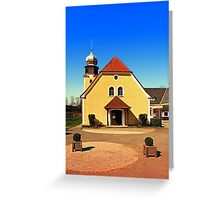 The village church of Geng | architecture photography Greeting Card