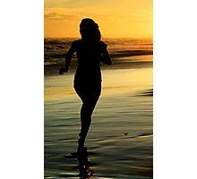 Baywatch Girl Photographic Print