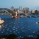 Sunset at Sydney Harbour by Jason Pang, FAPS FADPA
