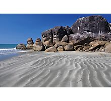 Tide Lines at Ramsay Photographic Print