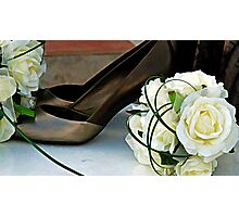 Time To Kick Off Your Shoes Photographic Print