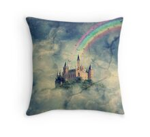 Fractured Fairytale Throw Pillow
