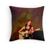 A Room with an Echo Throw Pillow