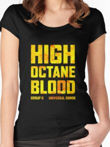 Mad Max Fury Road High Octane Blood Women's Fitted Scoop T-Shirt
