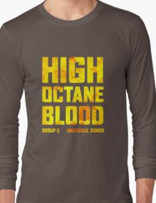 Mad Max Fury Road High Octane Blood Long Sleeve T-Shirt