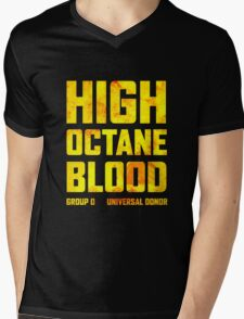 Mad Max Fury Road High Octane Blood Mens V-Neck T-Shirt