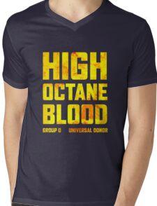Mad Max Fury Road High Octane Blood Mens V-Neck T-Shirt