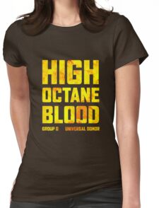 Mad Max Fury Road High Octane Blood Womens Fitted T-Shirt