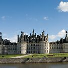 Chambord Castle in France by julie08
