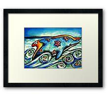 Ocean Odyssey Framed Print
