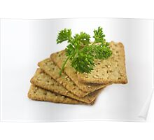 Sesame Crackers Poster