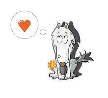 Wolf in love. by Voron4ihina