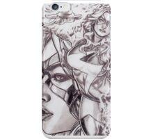 Ms Marvel - Black & White Sketch iPhone Case/Skin