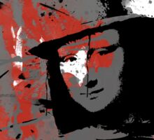 Freddy Lisa (Red) Sticker