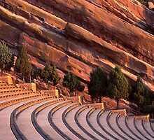 Red Rocks Amphitheater by AnaBrun