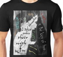 Writing On The Wall Unisex T-Shirt