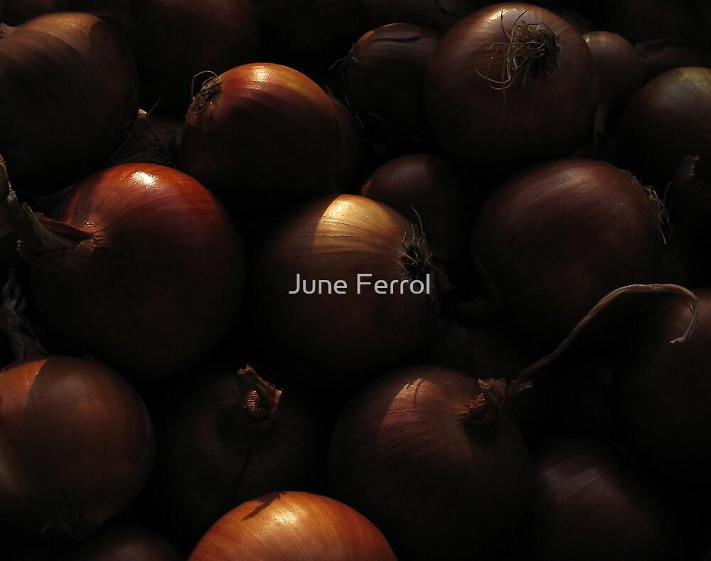 MY EYES WILL WATER... by June Ferrol