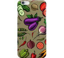 Veggiephile - Veggies iPhone Case/Skin