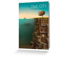 owl city Greeting Card