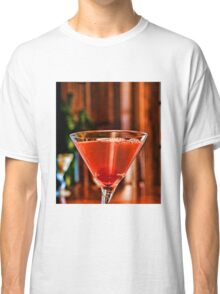 Red Martini Classic T-Shirt
