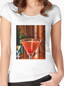 Red Martini Women's Fitted Scoop T-Shirt