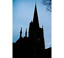 shadow clock Photographic Print