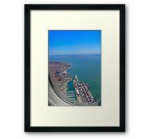 Lisbon Harbour... Framed Print