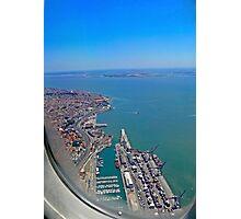 Lisbon Harbour... Photographic Print