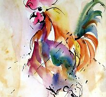 Mr. Rooster by Robin Spring Bloom