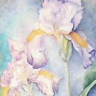 Softest Irises (Detail) by AngelArtiste