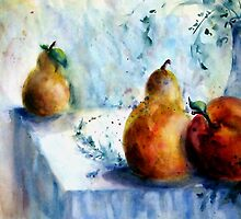 Fruit Still Life by Robin Spring Bloom