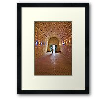Entrance to Ali-Sadr Cave - Iran Framed Print