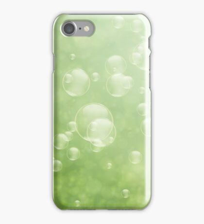 Soap bubbles iPhone Case/Skin