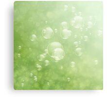 Soap bubbles Canvas Print