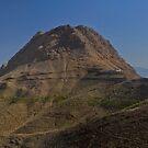 Sofeh Mountains - Esfahan - Iran - Panorama by Bryan Freeman