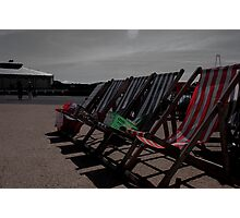 Deck the Chairs... Photographic Print