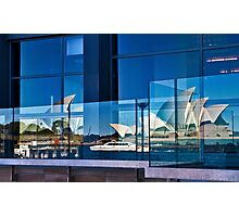 A Double Reflection on Sydney Opera House #3 - Australia Photographic Print