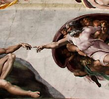 Sistine Chapel Ceiling by Monika Gorka