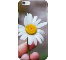 Just Take the Flower iPhone Case/Skin